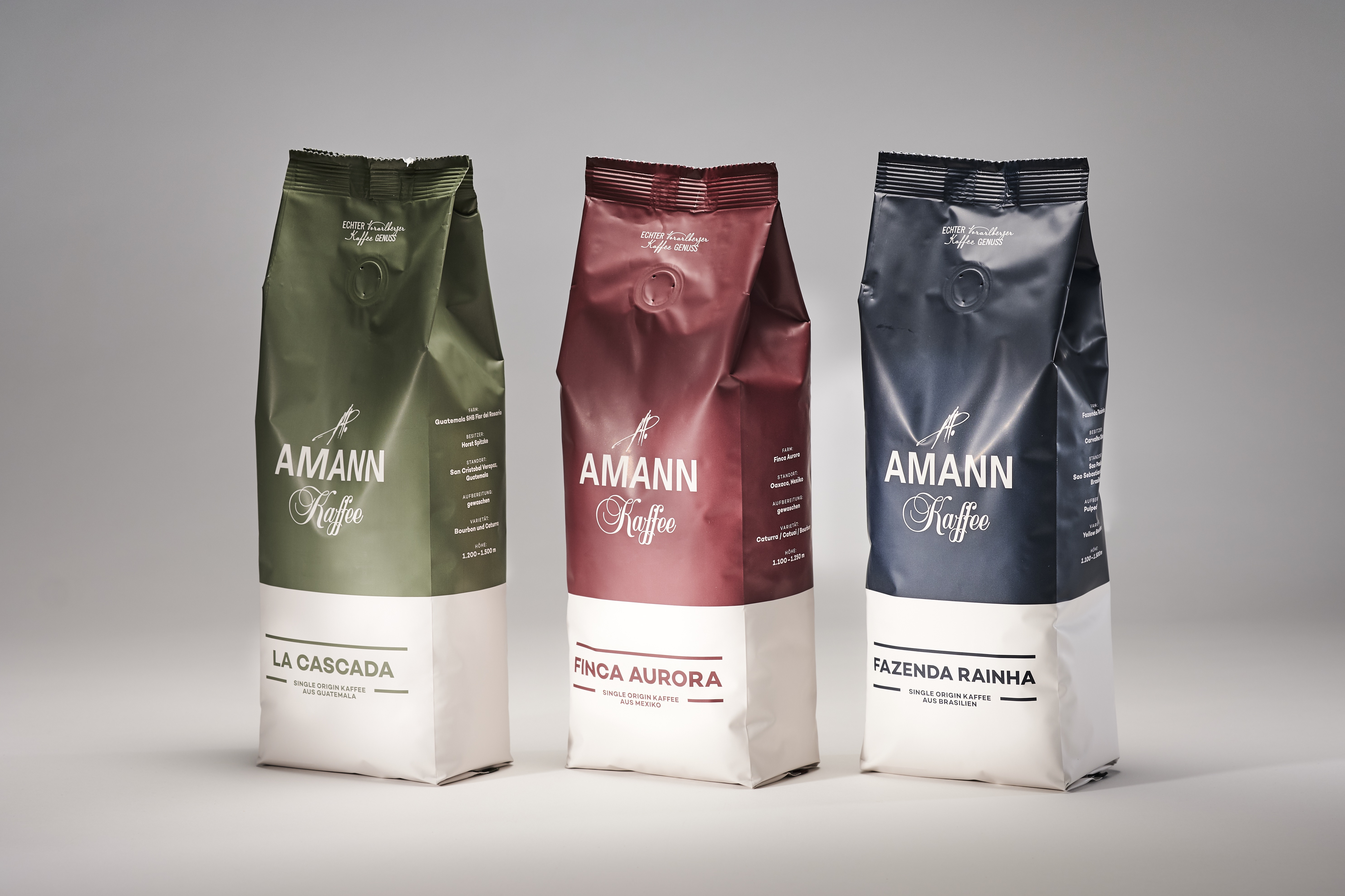 Neue Länderkaffees