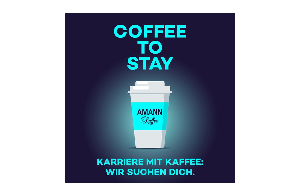 Karriere mit Kaffee: Amann sucht dich.